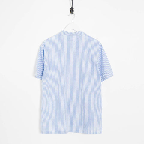 mfpen Camp Paisley Shirt - Light Blue Not Listed - CARTOCON