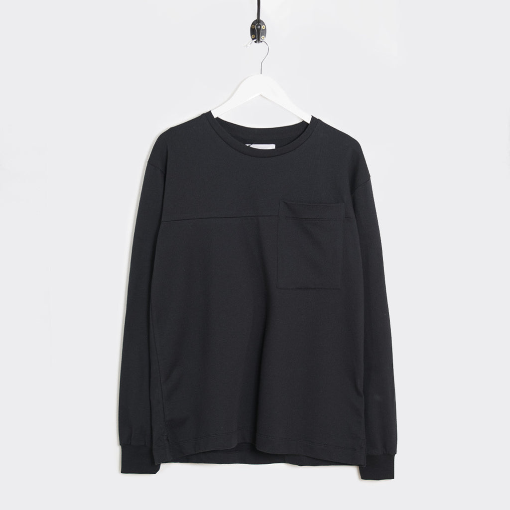 mfpen 01 Pocket Long Sleeve T-Shirt - Black - 1