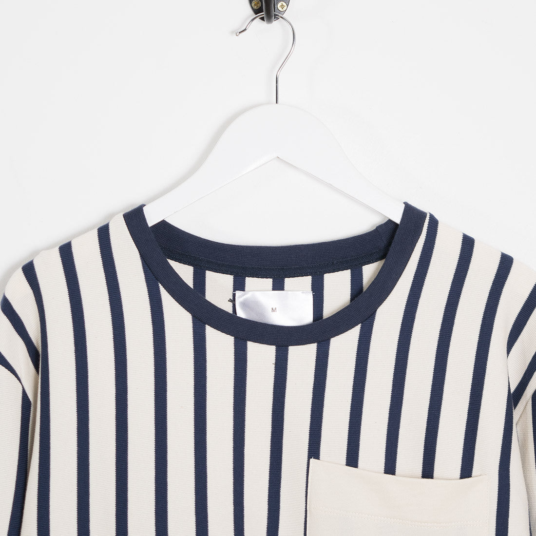 mfpen Striped Long Sleeve T-Shirt - Off White - 2