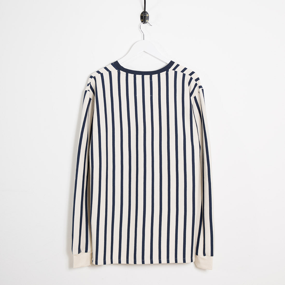 mfpen Striped Long Sleeve T-Shirt - Off White - 7