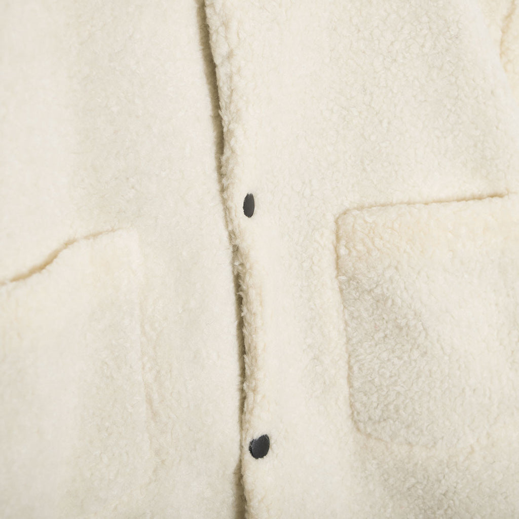 mfpen Brushed Fleece Jacket - Sand - 3