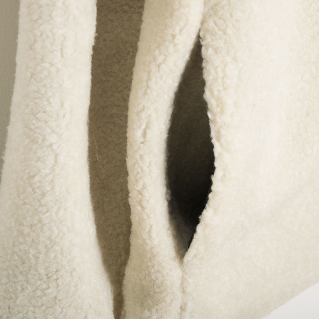 mfpen Brushed Fleece Jacket - Sand - 4