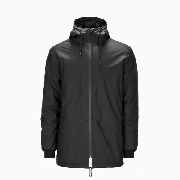 Rains N3 Parka Jacket - Black Jacket - CARTOCON