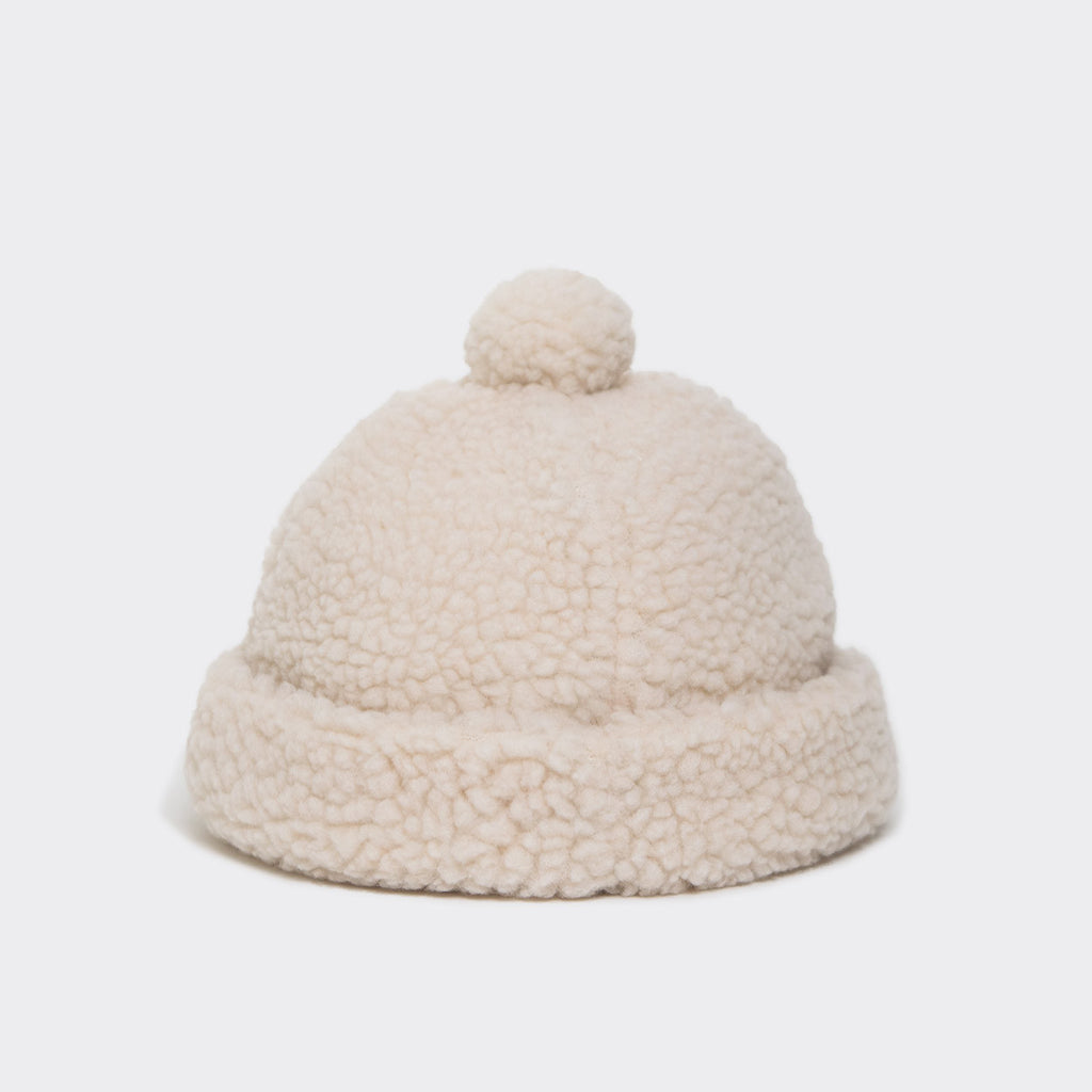Wood Wood Cora Teddy Hat - Off White