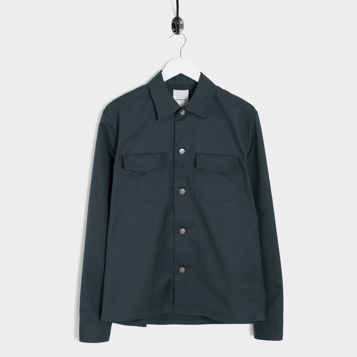 Wood Wood Franco Shirt - Dark Green