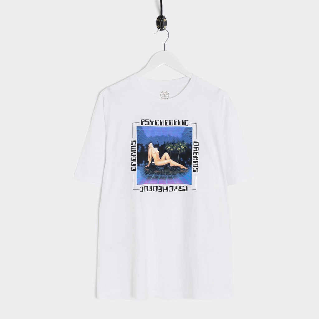 Good Worth Psychedelic Dreams T-Shirt - White