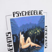 Good Worth Psychedelic Dreams T-Shirt - White T-Shirt - CARTOCON