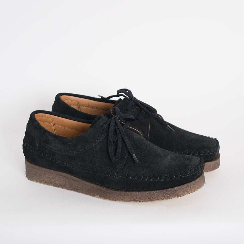 Padmore & Barnes Willow Shoes - Black Suede - 2