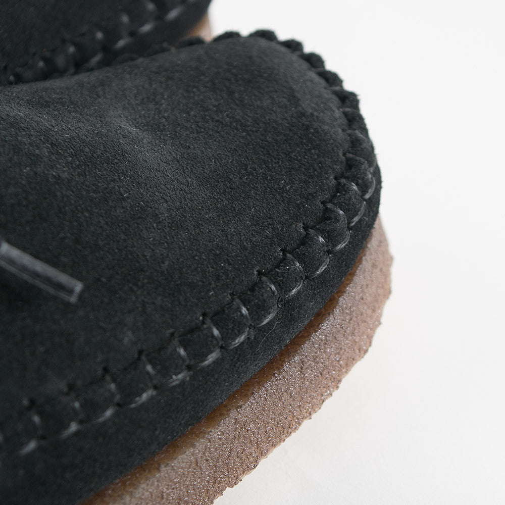 Padmore & Barnes Willow Shoes - Black Suede - 3