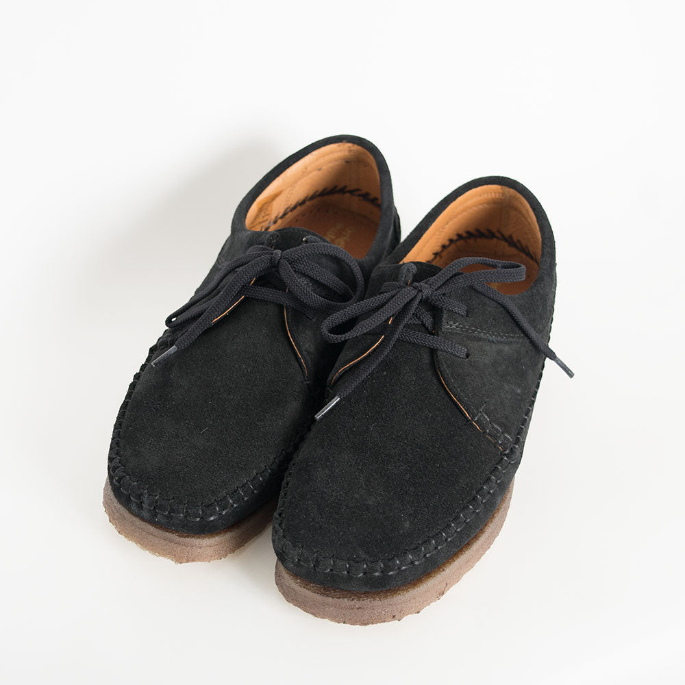Padmore & Barnes Willow Shoes - Black Suede - 4