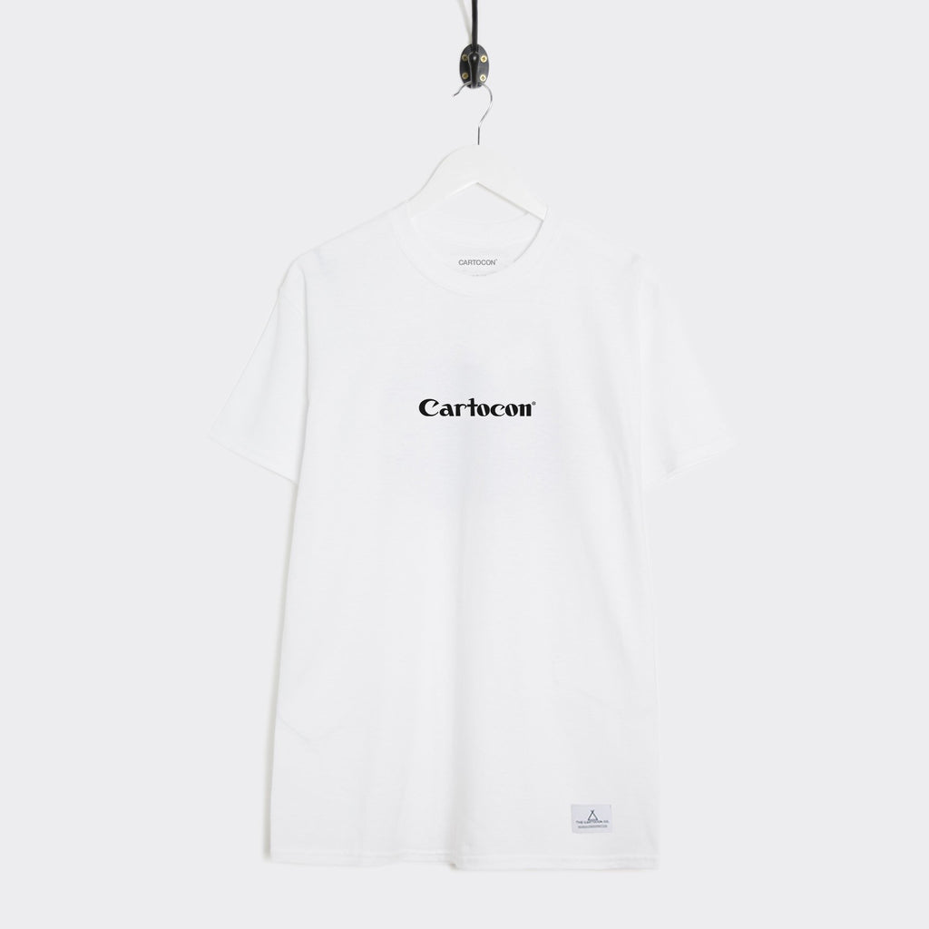Cartocon Canon T-Shirt - White
