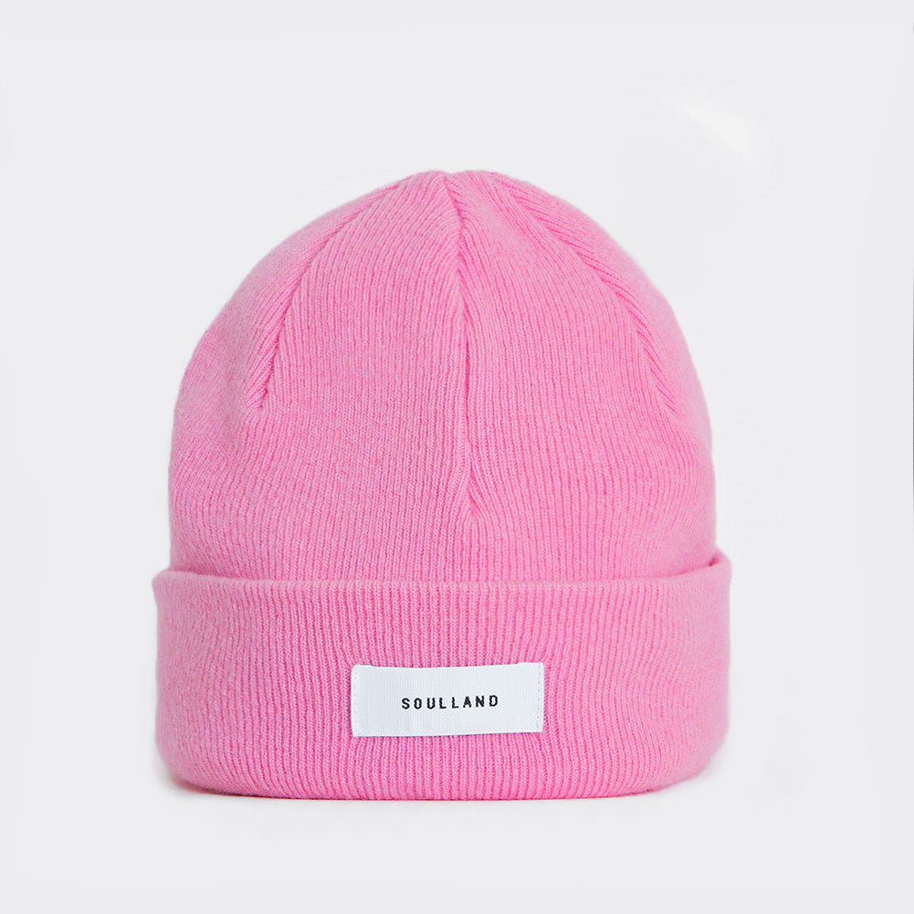 Soulland Villy Beanie – Dusty Pink Hat - CARTOCON