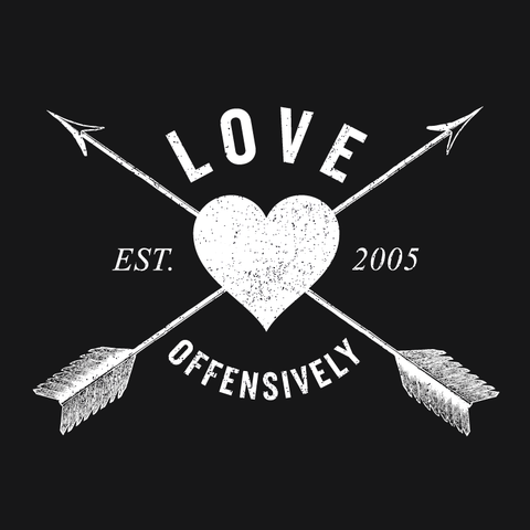 Love Offensively Logo