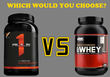 Best whey protein powder: Optimum Nutrition vs Rule 1