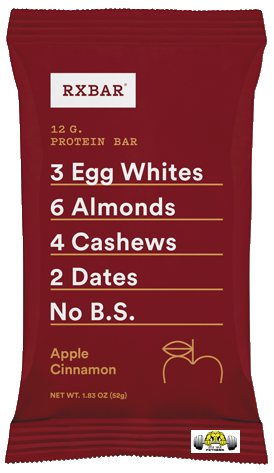 Apple Cinnamon RX Bar – Box of 12
