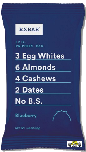Blueberry RX Bar – Box of 12