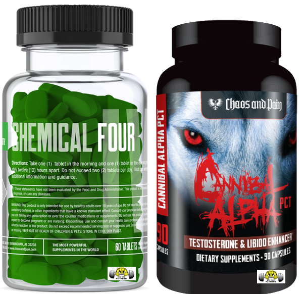 Chemical Four and Cannibal Alpha PCT Stack by Chaos & Pain
