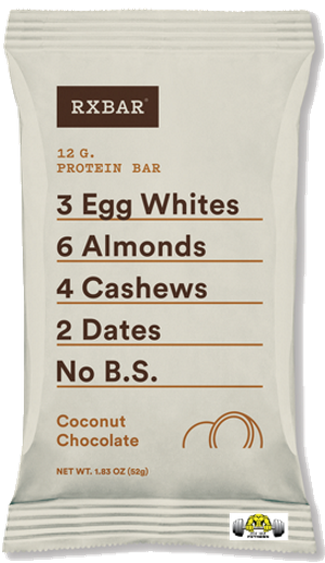 Coconut Chocolate RX Bar – Box of 12