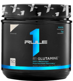 R1 100% Micronized L-Glutamine by Rule One