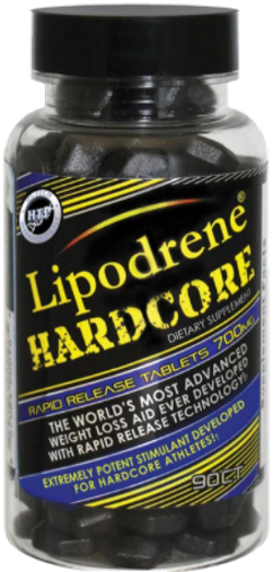 Lipodrene Hardcore w Ephedra by (HTP) Hi-Tech Pharmaceuticals