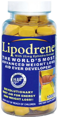Lipodrene w Ephedra by (HTP) Hi-Tech Pharmaceuticals