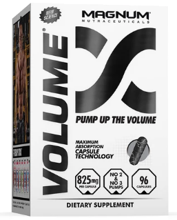 Volume – The Ultimate Pump Supplement by Magnum Nutraceuticals