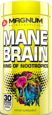 Mane Brain Nootropic by Magnum Supps (Nutraceuticals) - 60 Capsules
