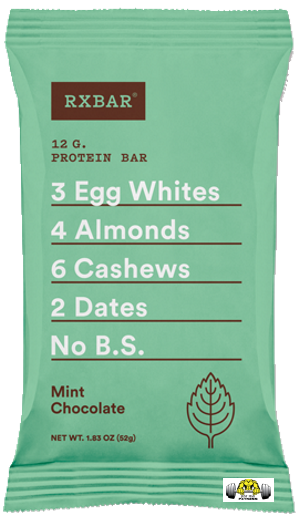 Mint Chocolate RX Bar – Box of 12
