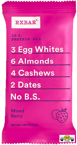Mixed Berry RX Bar – Box of 12