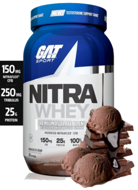 Nitra Whey Protein Powder by GAT Sport