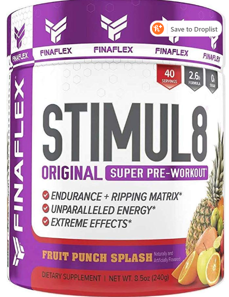 Stimul8 Original Super Pre-Workout by Finaflex