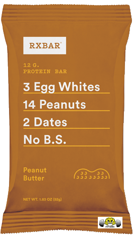Peanut Butter RX Bar – Box of 12