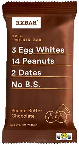 Peanut Butter Chocolate RX Bar – Box of 12