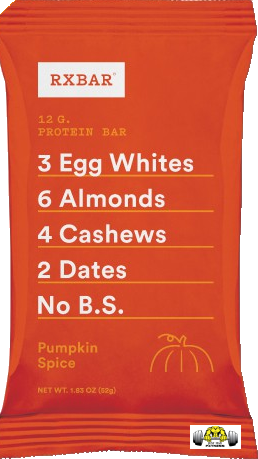 Pumpkin Spice RX Bar – Box of 12