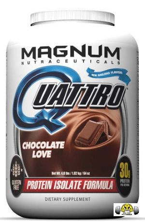 Quattro Premium Isolate Protein by Magnum Supps (Nutraceuticals)