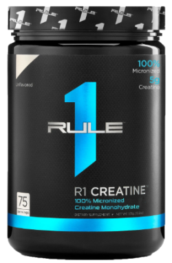 R1 100% Micronized Creatine Monohydrate by Rule 1