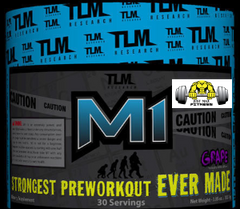 M1 Extreme Pre-Workout by TLM Research