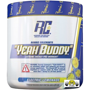 Yeah Buddy Extreme Energy Pre-Workout by Ronnie Coleman Signature Series Supplements (RCSS)