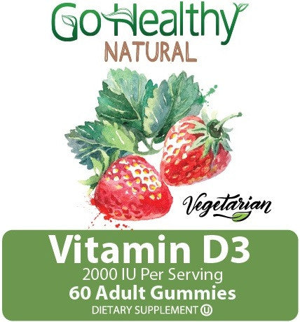 Vegetarian D3 Gummy Vitamin