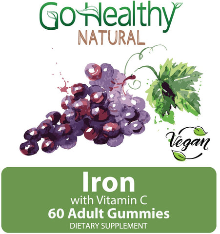 Iron with Vitamin C Gummies