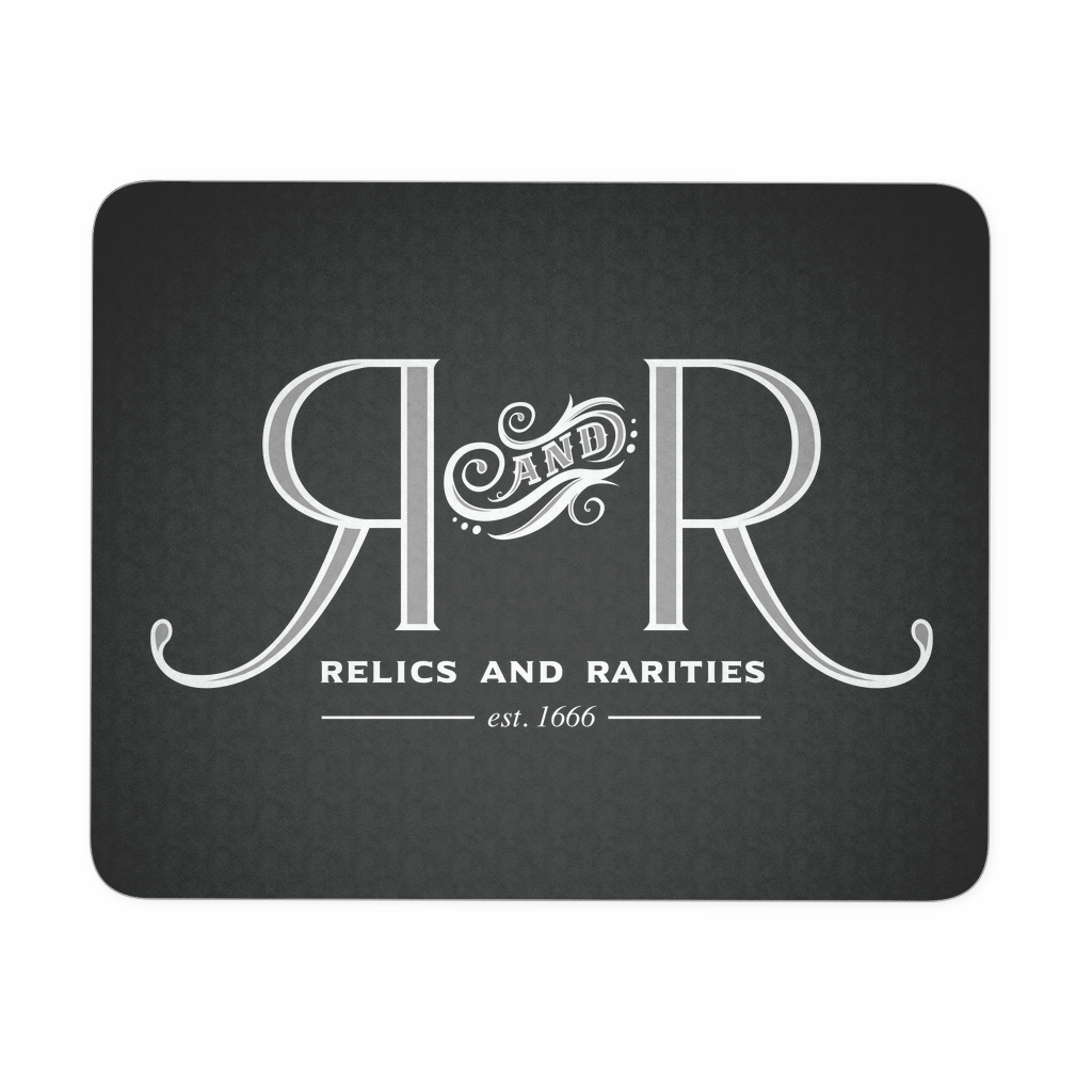 Relics and Rarities - Mousepad