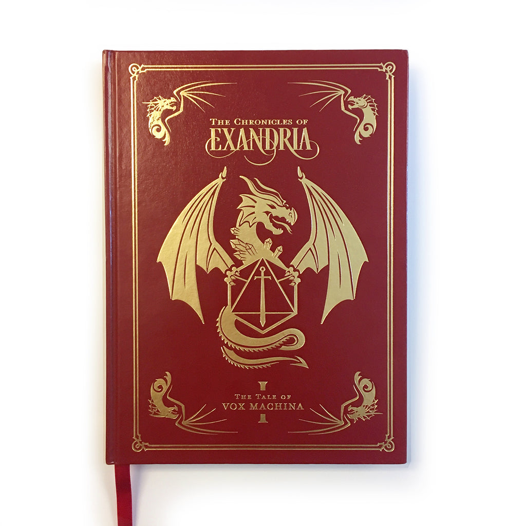 The Chronicles of Exandria: The Tale of Vox Machina Art Book Deluxe Edition