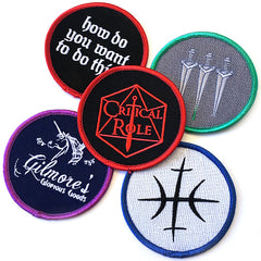 Critical Role 5 Patch Set