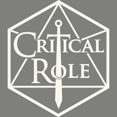 Critical Role Logo Vinyl Sticker