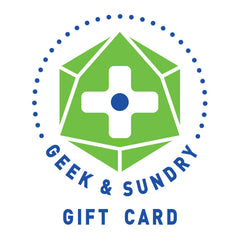 Geek and Sundry Gift Card