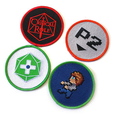Geek and Sundry 4 Patch Set #2