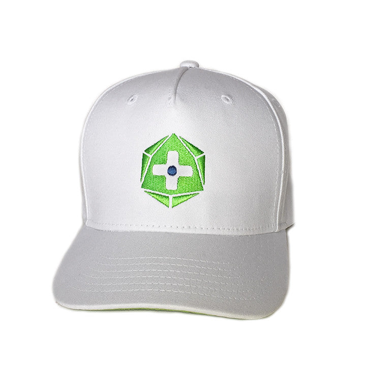 Official Geek and Sundry Logo White Hat