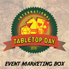 International Table Top Day 2018 Event Marketing Box
