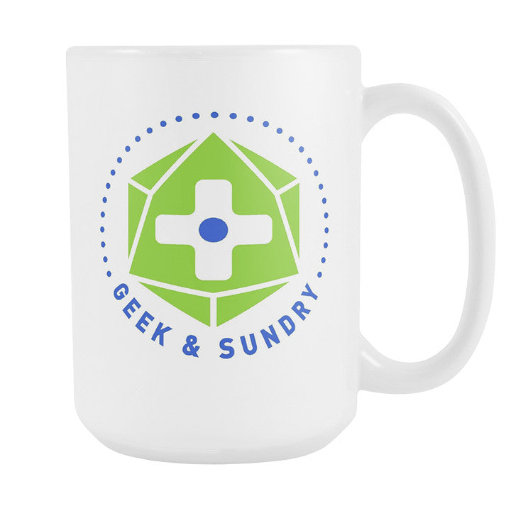 Geek and Sundry Seal White Mug