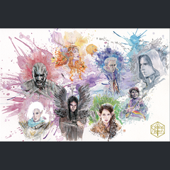 (PREORDER) Critical Role 100th Episode David Mack Art Print